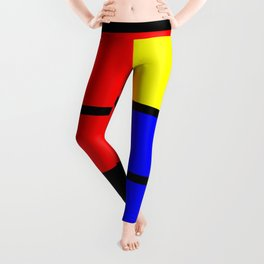 Mondrianista Leggings