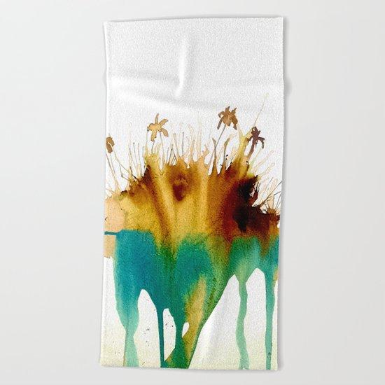 Coffee Island Beach Towel