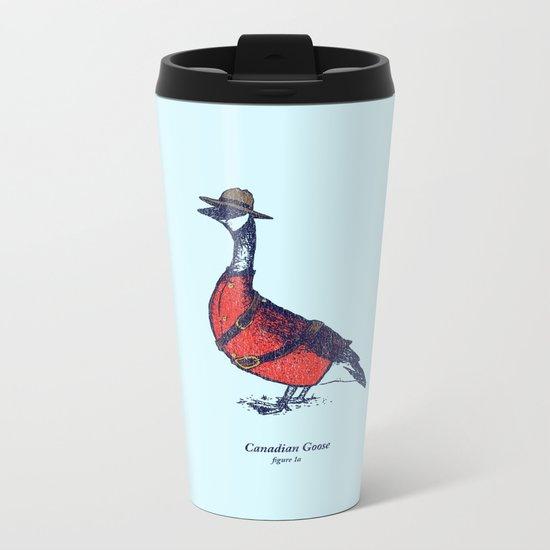 Canadian Goose Metal Travel Mug