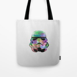 Colourful Stormtrooper Tote Bag