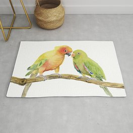 Parakeet - Friendship Rug