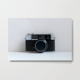 Oh Snap! Vintage Camera Metal Print