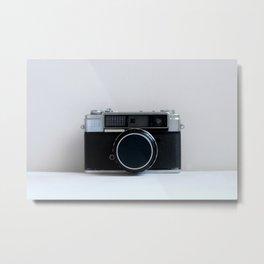Oh Snap! Vintage Camera Metal Print