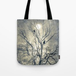 Raven's shelter II  (colour option) Tote Bag