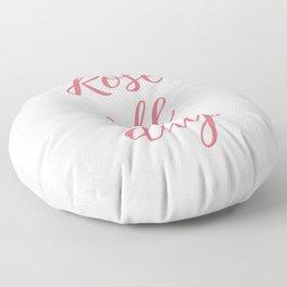 Rose All Day Floor Pillow