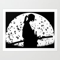 samurai champloo Art Prints featuring Jin - Samurai Champloo by Proxish Designs