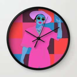 summer mondays? Wall Clock