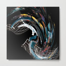 Flying Colours Metal Print