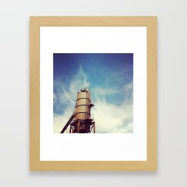 Blue Sky Framed Art Print