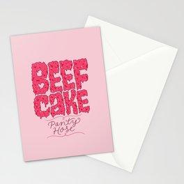 Beefcake Pantyhose Stationery Cards