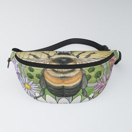 On the Brink: Rusty Patched Bumblebee Fanny Pack