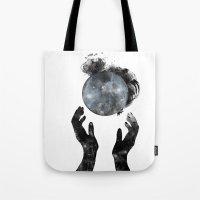 howl Tote Bags featuring Howl by M. Vander