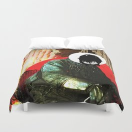 Wait, What Time Is It? Duvet Cover