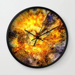 Inkferno Wall Clock