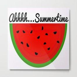 Ahhh....Summertime Metal Print