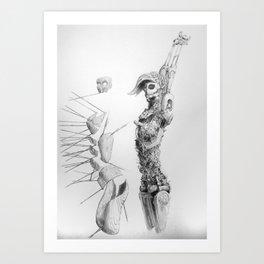 Automa V Art Print