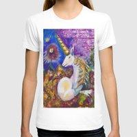 unicorn T-shirts featuring Unicorn by CrismanArt