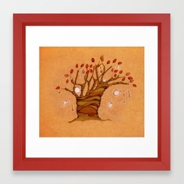 The teatree Framed Art Print