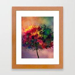 Love in Fall Framed Art Print