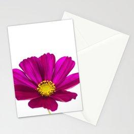 Magenta Cosmos Flower Stationery Cards