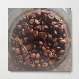 Coffee Bean Love (2)  Metal Print