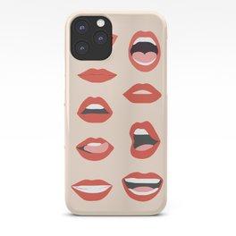 Lips III iPhone Case
