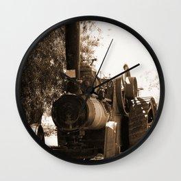 Lincoln - Ruston Proctor Co Ltd Sepia Wall Clock