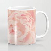 blush Mugs featuring BLUSH by Jenny Althouse