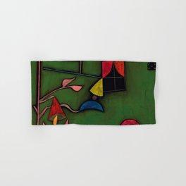 """Paul Klee """"Pflanze und Fenster Stilleben (Still life with Plant and Window)"""" Hand & Bath Towel"""