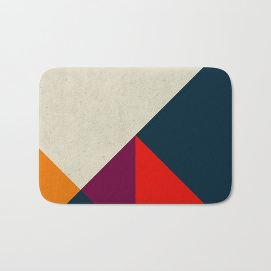 Geometric abstract Bath Mat