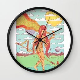 The Happen Dasher.  Wall Clock