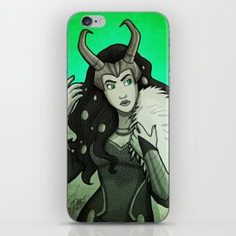 Lady Loki iPhone Skin