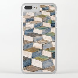 Pompeii Floor Clear iPhone Case