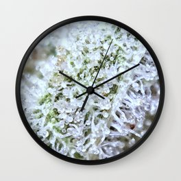 Full Trichomes Wall Clock
