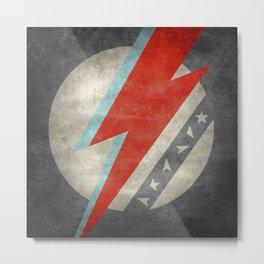 Bowie tribute - Stardust Metal Print