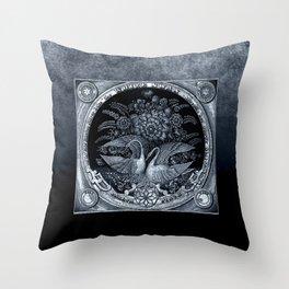 SwanCurios 04 Throw Pillow