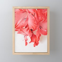 Coral Cascade Framed Mini Art Print