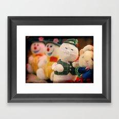 Christmas Toys Framed Art Print