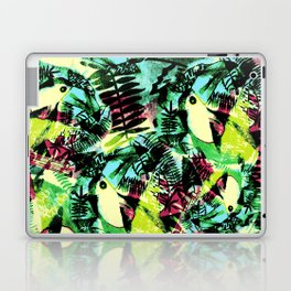 Tossed Toucan  Laptop & iPad Skin