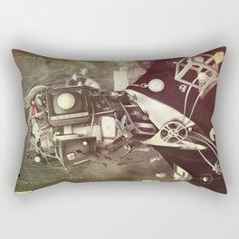 Portrait of nostalgia Rectangular Pillow