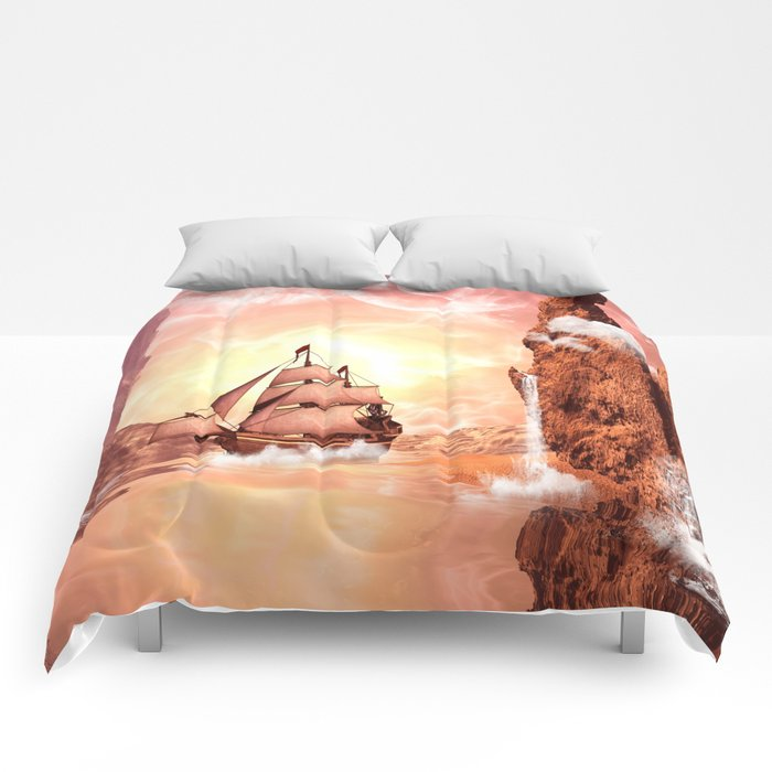 The ship Comforters