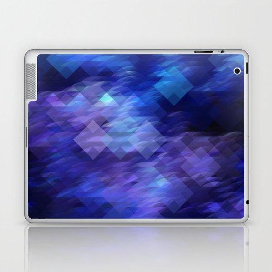 Anemone Wave Pixel Laptop & iPad Skin