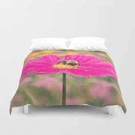 Pink and Bumble Duvet Cover