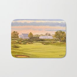 Whistling Straits Golf Course 9th And 18th Bath Mat