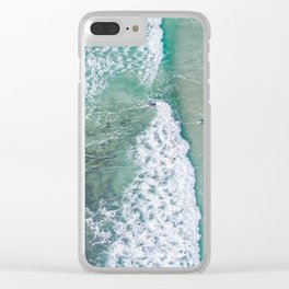 turquoise waters #society6 #decor #buyart Clear iPhone Case