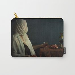Lady justice with  pomegranate Carry-All Pouch