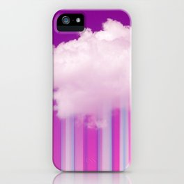 Raining Lines iPhone Case