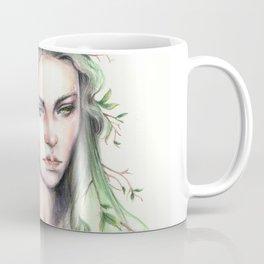 """""""Terra"""" Earth spirit Watercolour portrait Coffee Mug"""