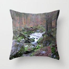 Fantastic Landscape AUSTRIA 13 Throw Pillow