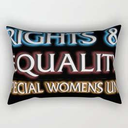 RIGHTS AND EQUALITY Rectangular Pillow